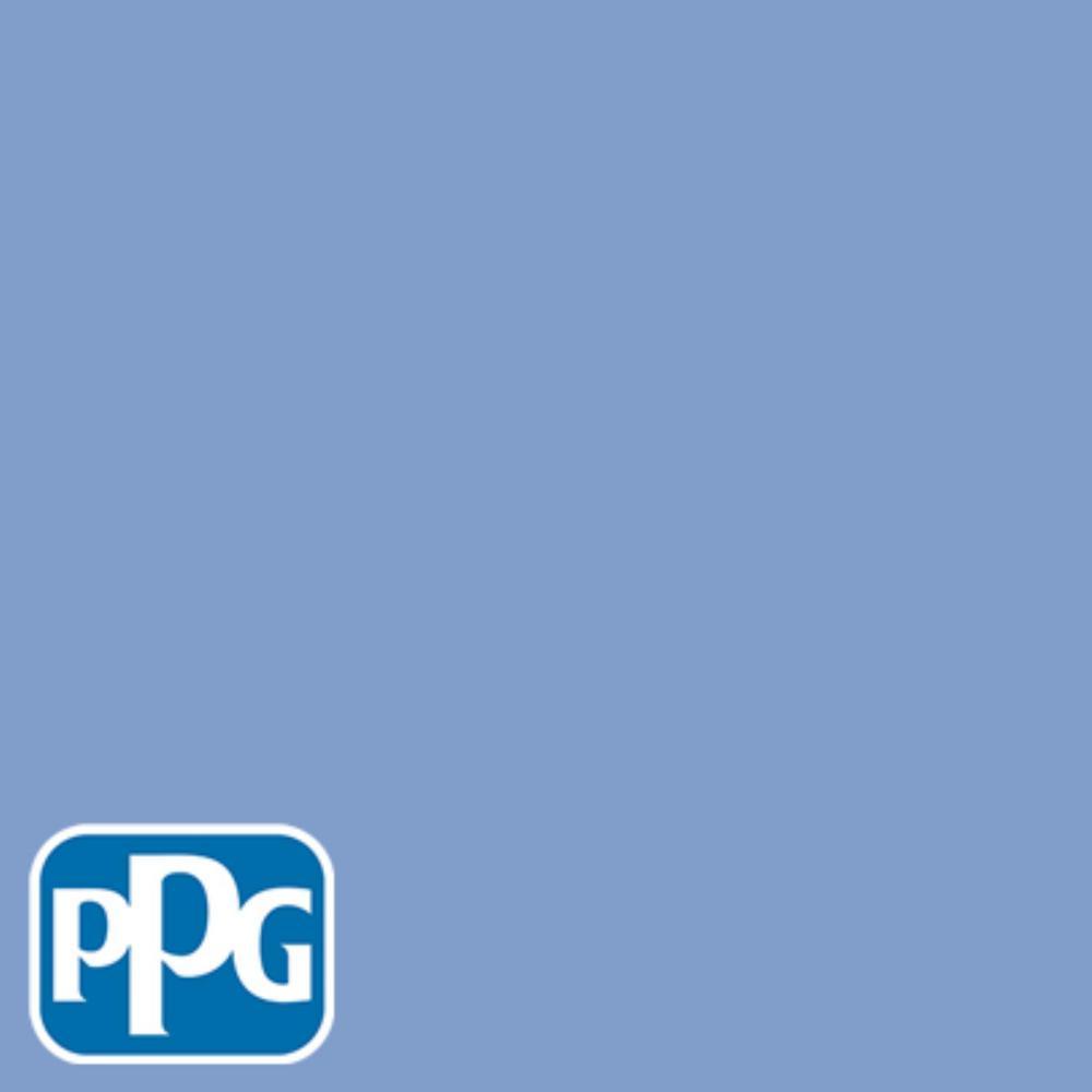 PPG TIMELESS 8 oz. #HDPPGV28 Fresh Hyacinth Satin Interior/Exterior Paint Sample
