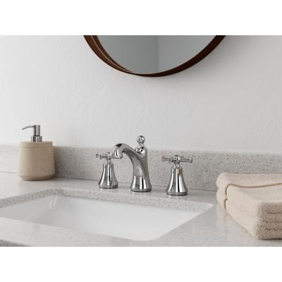 Thurmont 8 in. Widespread 2-Handle Bathroom Faucet in Polished Chrome