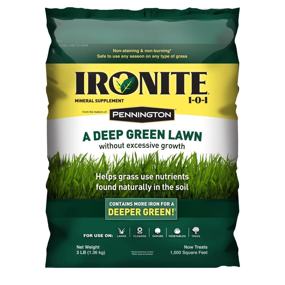 Ironite 3 lb. 1-0-1 1M Fertilizer