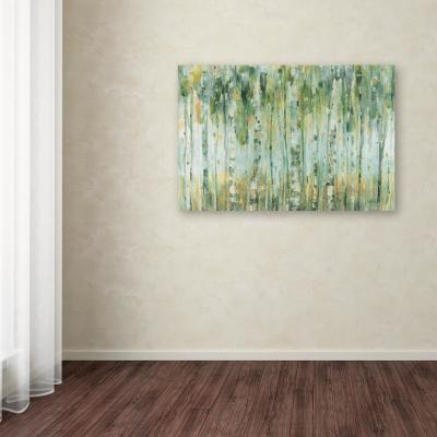 "30 in. x 47 in. ""The Forest I"" by Lisa Audit Printed Canvas Wall Art"