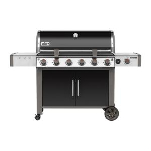 Weber Genesis II LX E-640 6-Burner Natural Gas Grill in Black with Built-In... by Weber