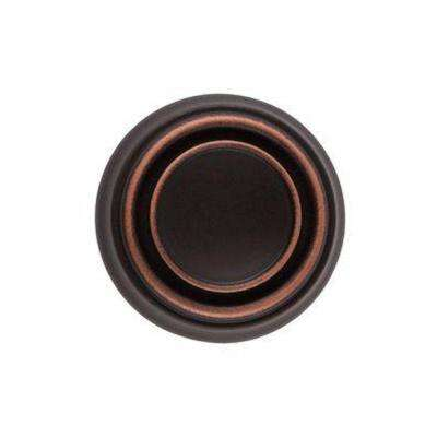 1-1/4 in. Satin Copper Round Cabinet Knob