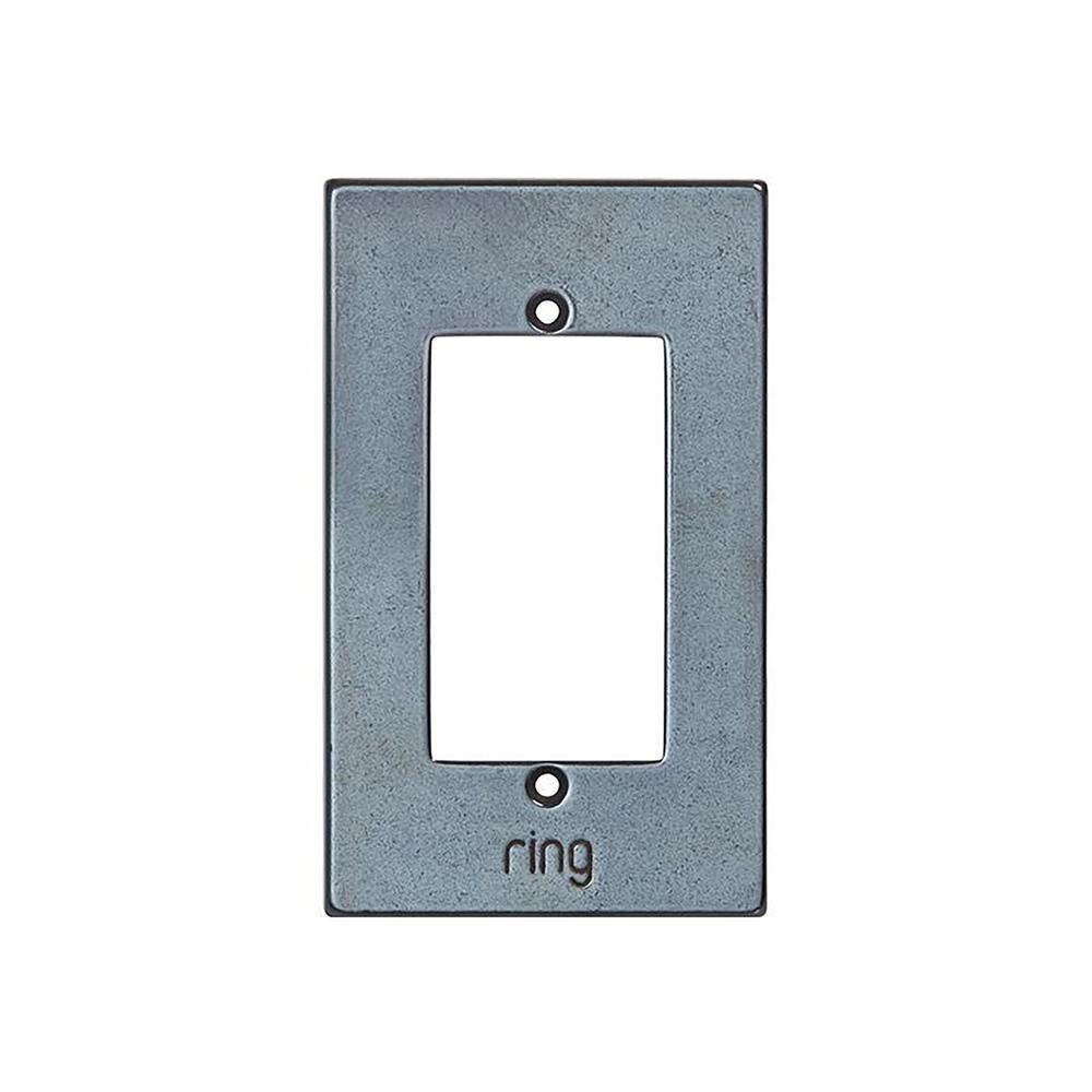 Ring Wired Video Door Bell Elite White Bronze Dark Faceplate 2axf11