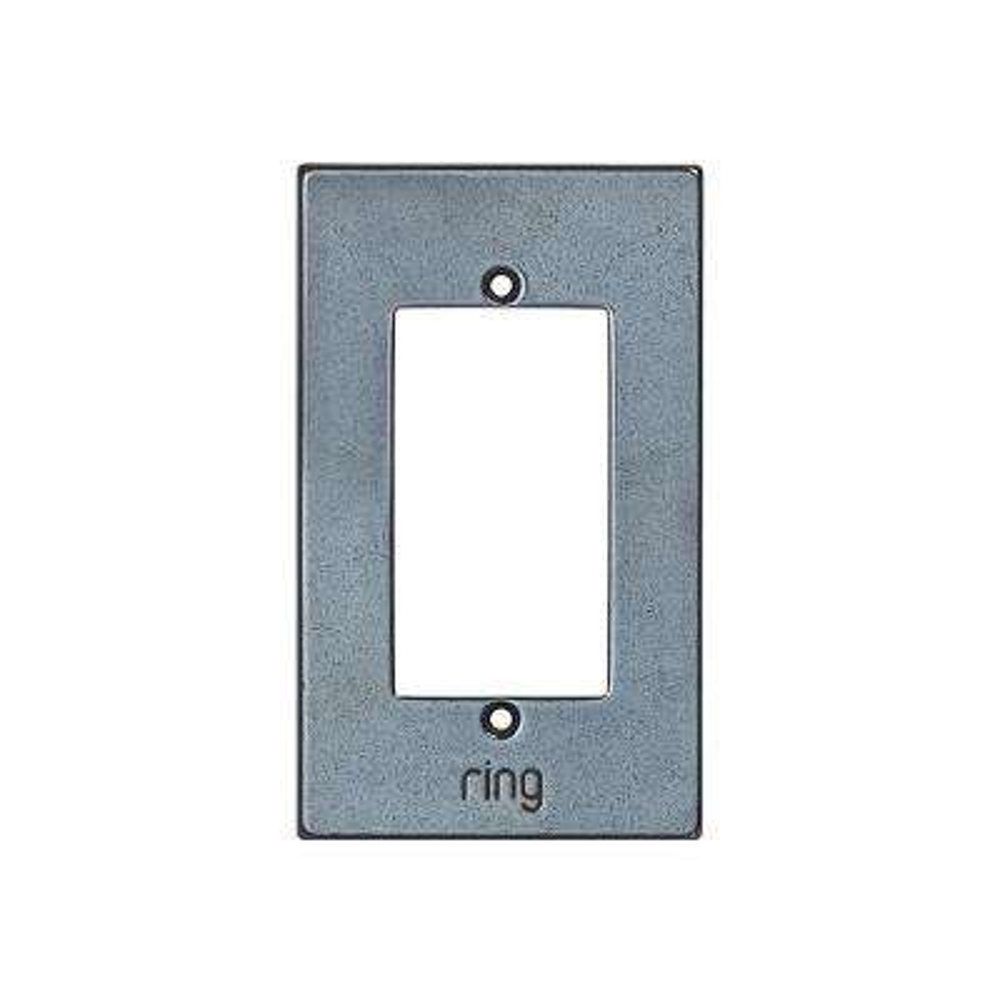 Wired Video Door Bell Elite White Bronze Dark Faceplate