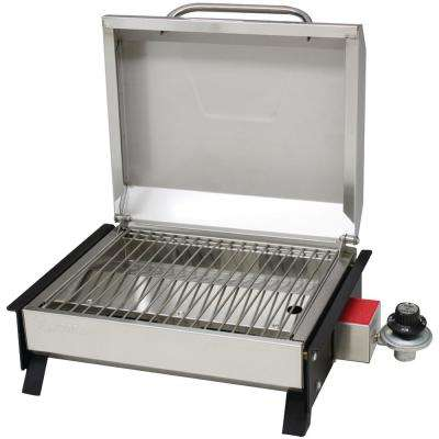 Portable Propane Gas Cubed 150 Grill in Stainless Steel