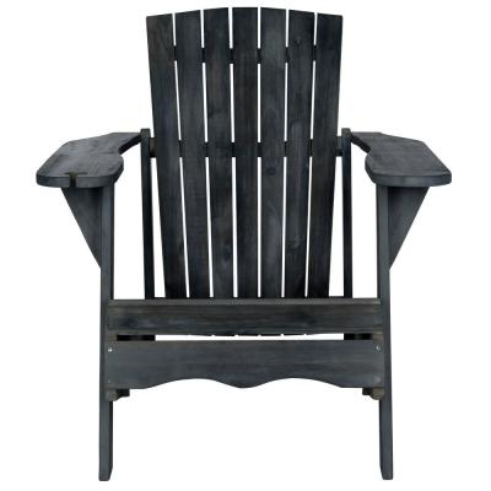 Vista Dark Slate Gray Wood Adirondack Chair