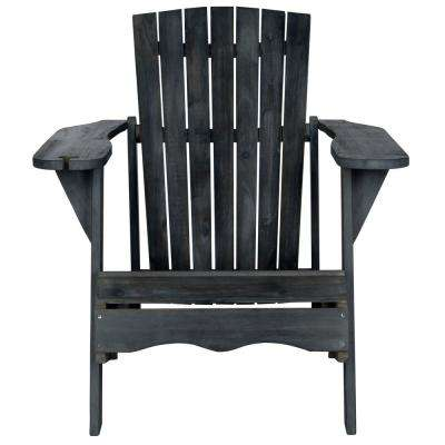 Vista Dark Slate Gray Wood Adirondack Chair