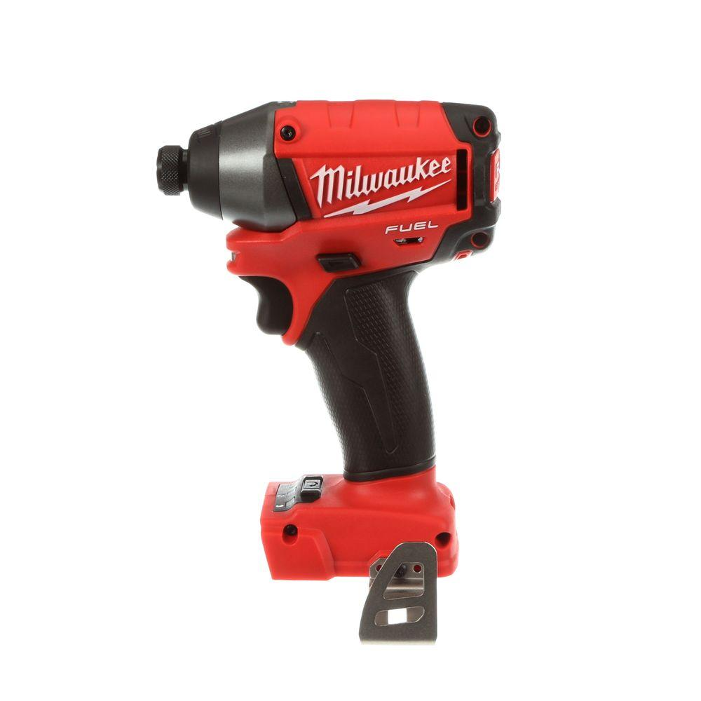 Milwaukee M18 FUEL 18-Volt Brushless Lithium-Ion 1/4 in. Hex Impact Driver (Tool-Only)