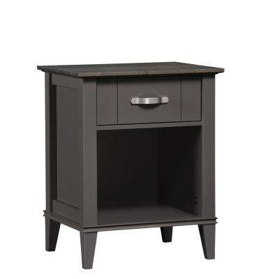 Lisette Gray Nightstand