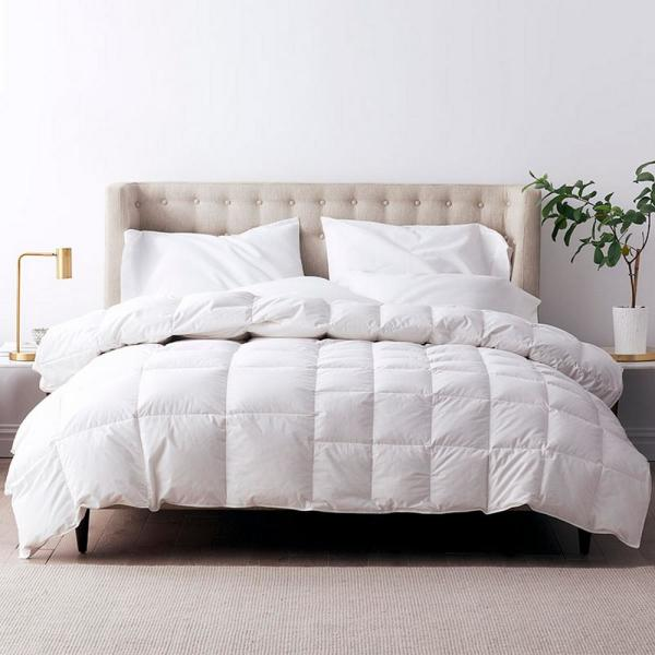 LaCrosse LoftAIRE Dual-Sided Climate Lightweight/Medium Warmth Queen Down Alternative Comforter