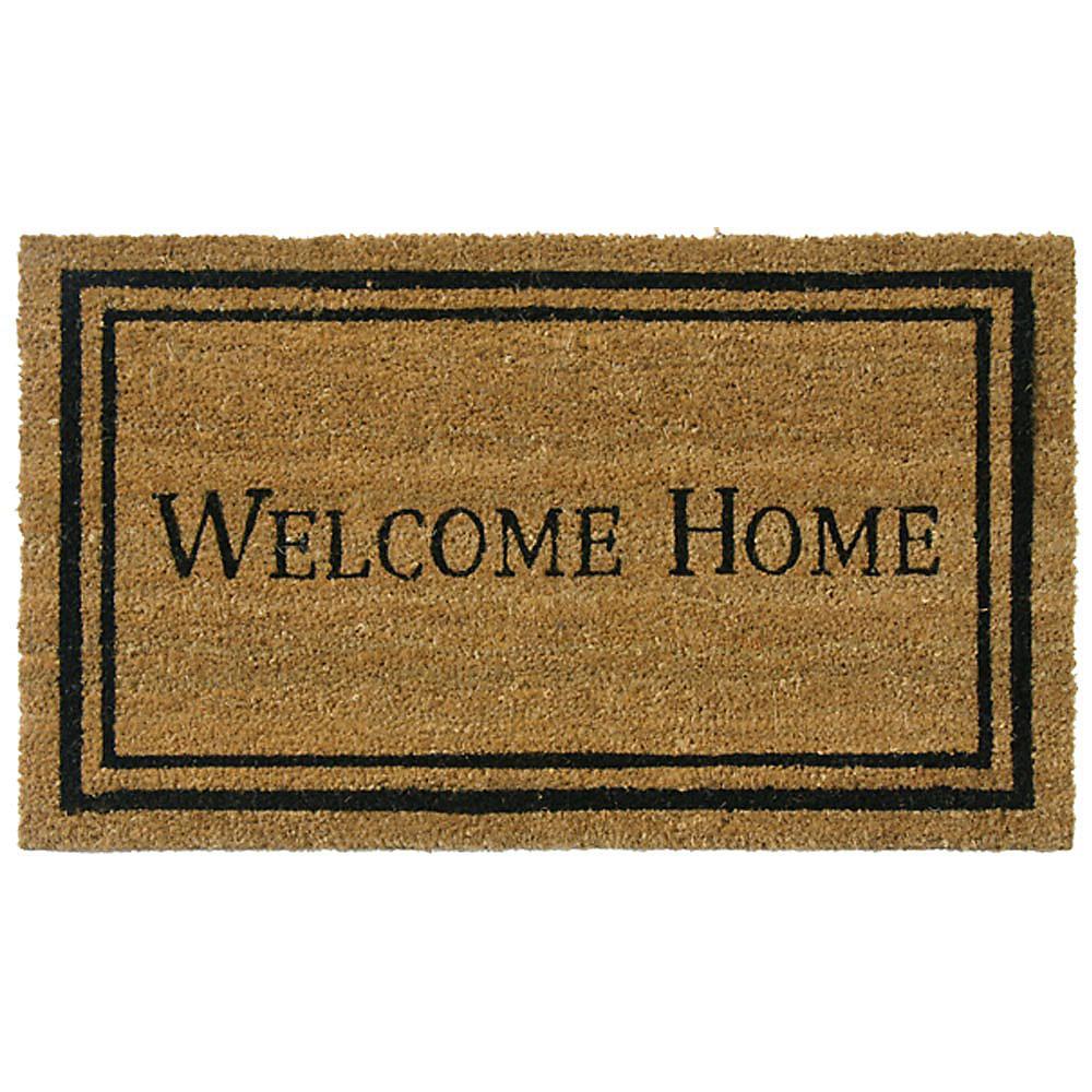 Contemporary Welcome Home 24 in. x 57 in. Door Mat