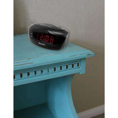 Black Super Loud Alarm LED Alarm Clock