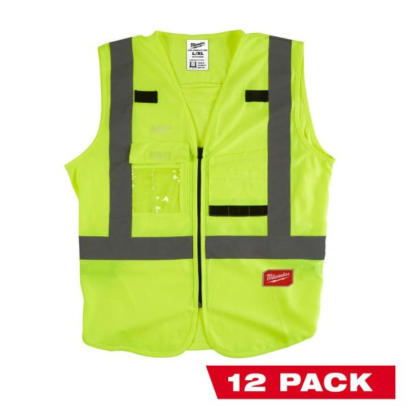 Milwaukee LargeX Large Yellow Class 2 High Visibility