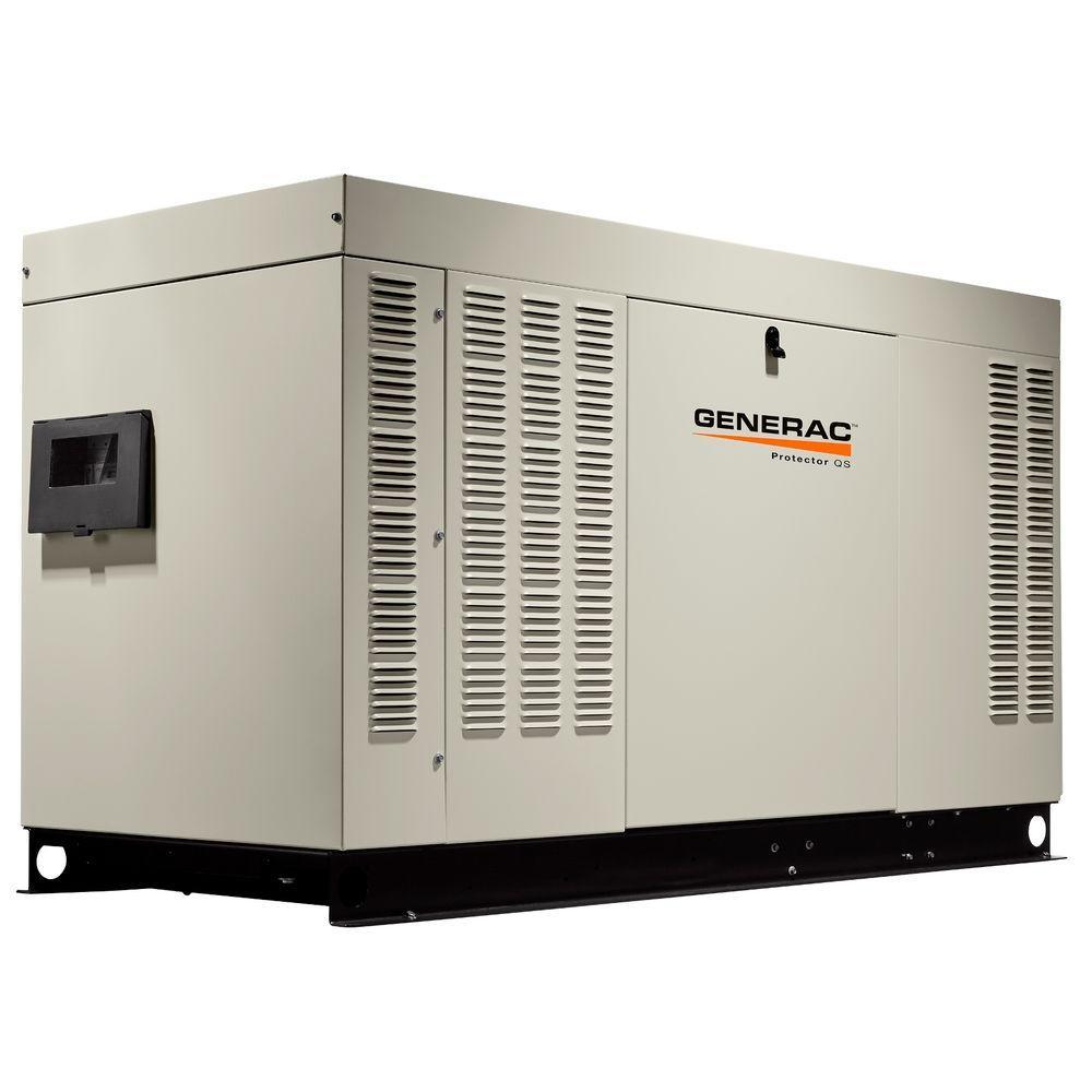 48,000-Watt 120-Volt/240-Volt Liquid Cooled Standby Generator Single Phase with Aluminum Enclosure