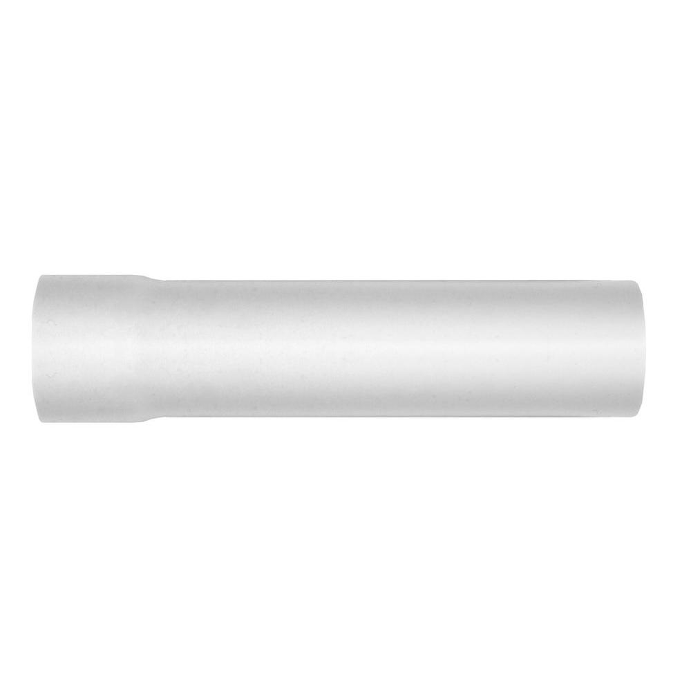 Everbilt 1-1/4 in. x 6 in. PVC Solvent Weld Extension Tube