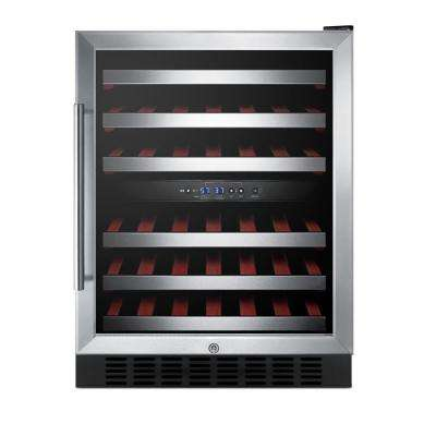 46-Bottle Dual Zone Wine Cellar