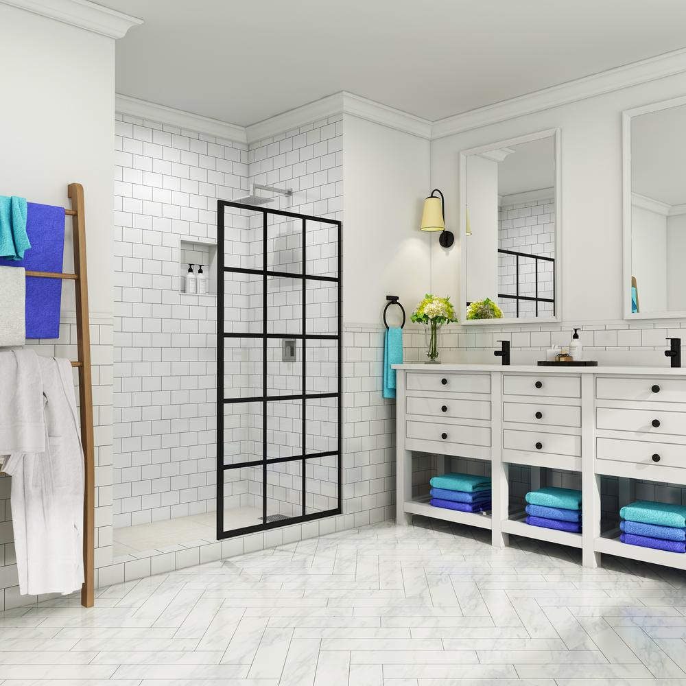Sliding Doors The Sims 4: Aston French Durance 32 In. X 72 In. Frameless Fixed