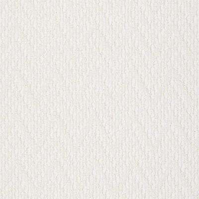 Carpet Sample - Uptown - In Color Snowflake Pattern 8 in. x 8 in.