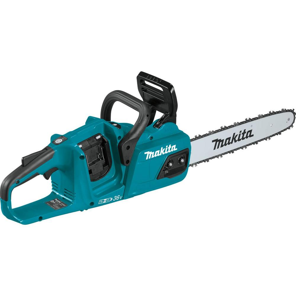 Makita 14 in. 18-Volt X2 (36-Volt) LXT Lithium-Ion Brushless Cordless Chain Saw (Tool-Only)