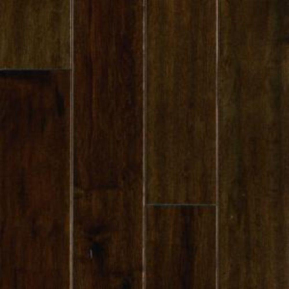 Mohawk Take Home Sample - Mocha Maple Engineered UNICLIC Hardwood Flooring - 5 in. x 7 in.