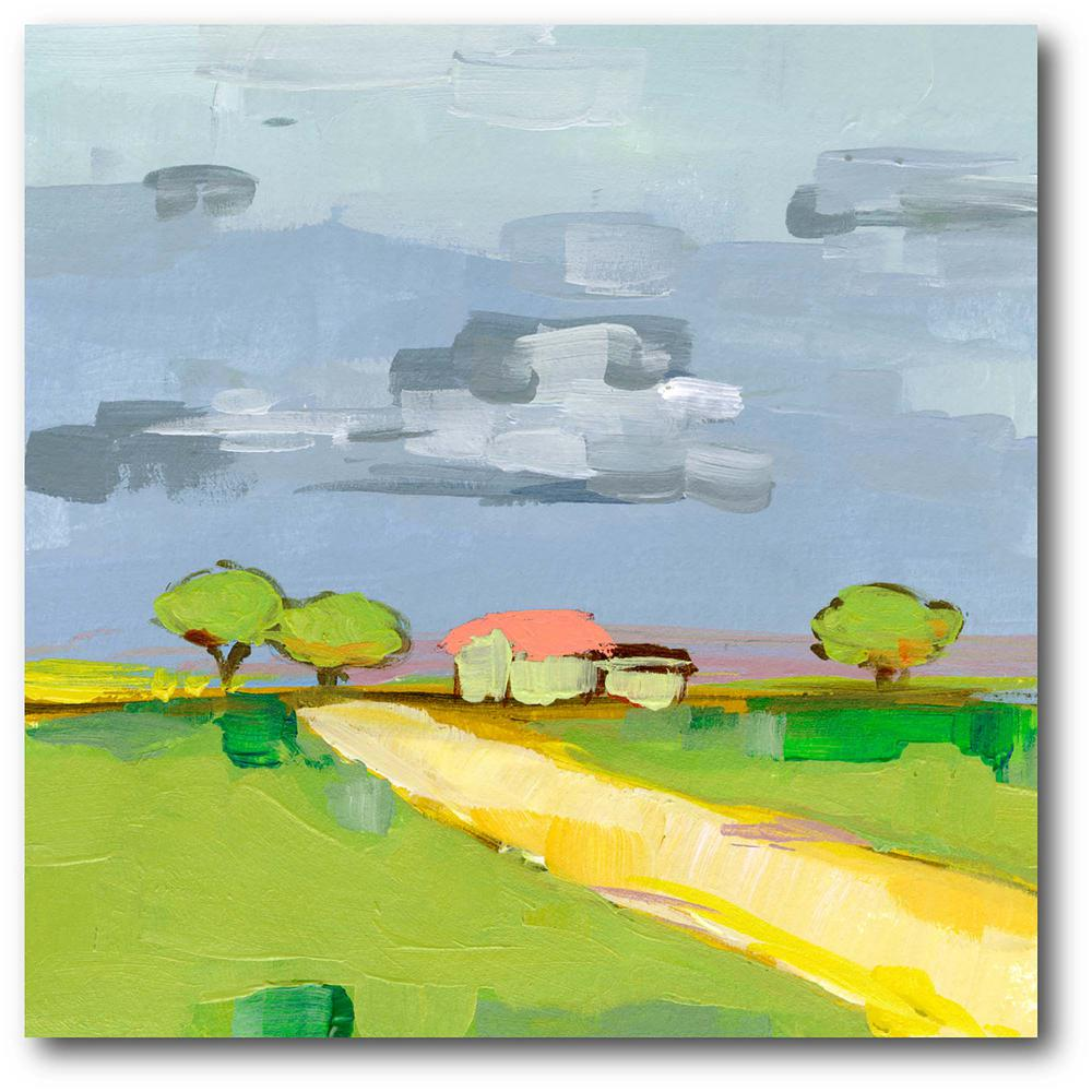 Courtside Market Lay of the Land I Gallery-Wrapped Canvas Nature Wall Art 24 in. x 24 in., Multi Color was $115.0 now $64.03 (44.0% off)
