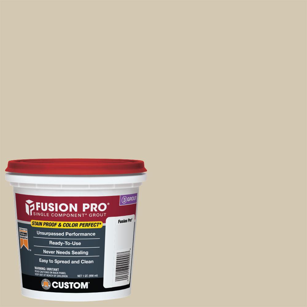 Custom Building Products Fusion Pro #382 Bone 1 qt. Single Component Grout
