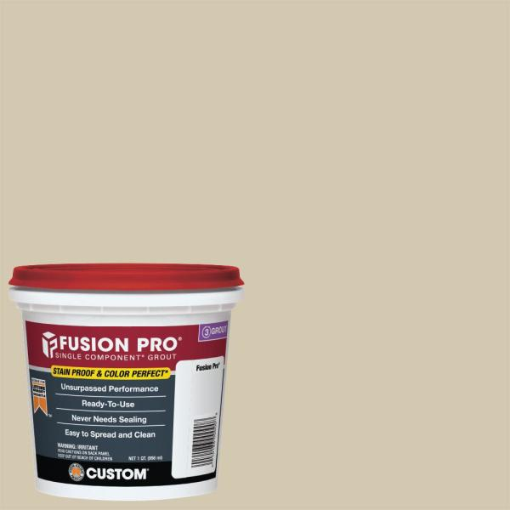 Fusion Pro #382 Bone 1 qt. Single Component Grout