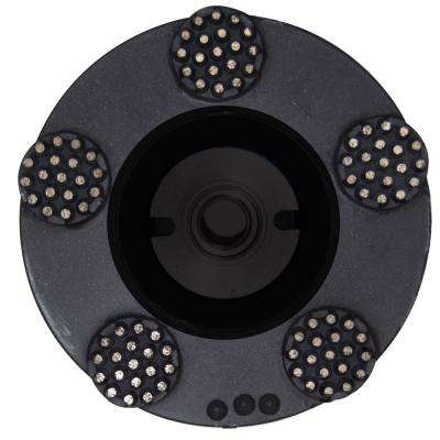 5 in. Pro Series Spike Grinding Wheel Wet/Dry 5/8 in. - 11 in. Thread