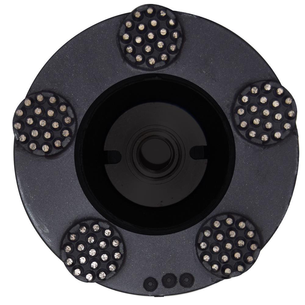 5 in. Pro Series Spike Grinding Wheel Wet/Dry 5/8 in. - 11 in. Thread