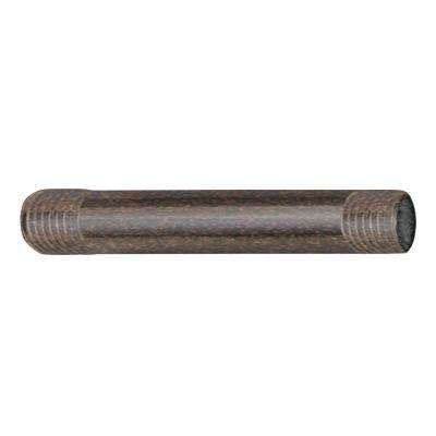 6 in. Straight Shower Arm in Oil-rubbed bronze