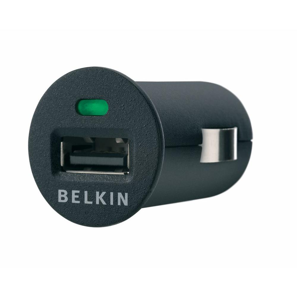 Belkin 1-Outlet Micro Surge USB Car Charger