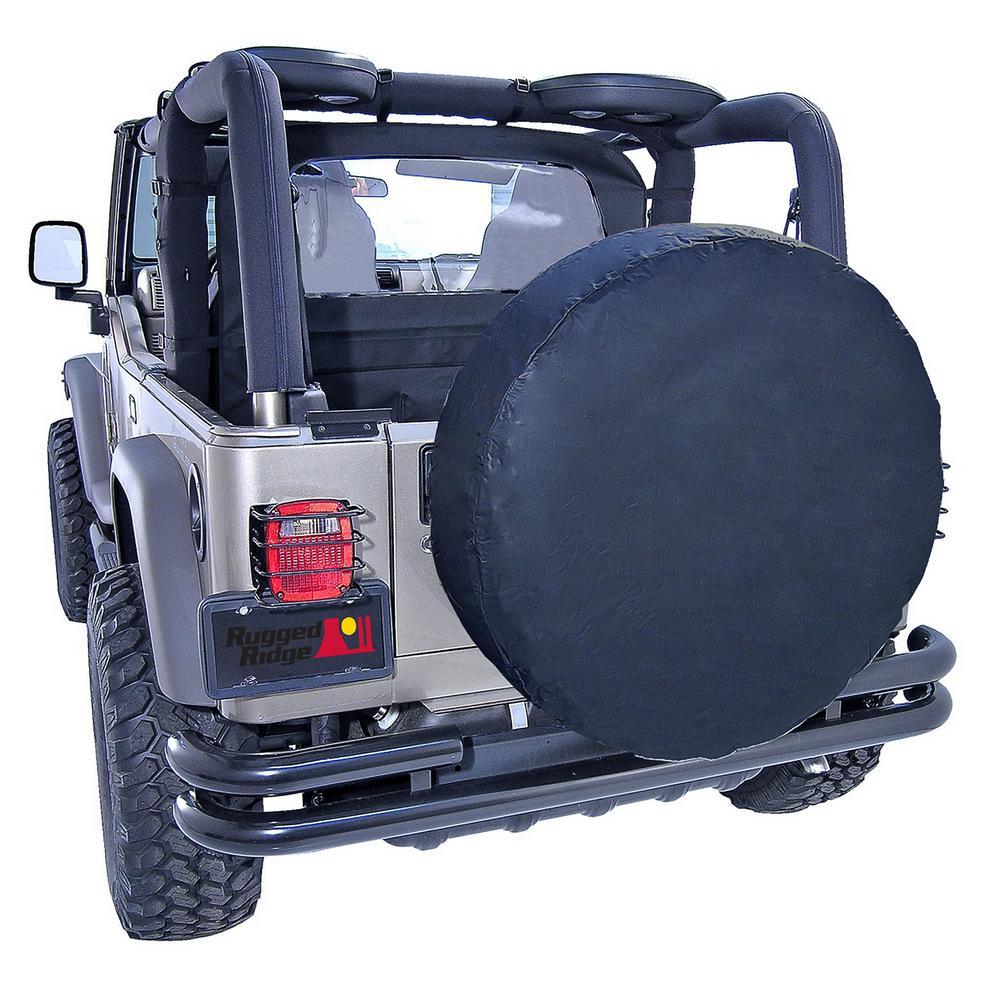 Covercraft ST7001BK Black Spare Tire Cover 30in - 32in