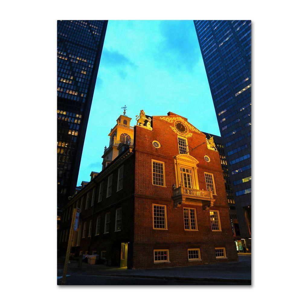 30 in. x 47 in. Boston Canvas Art
