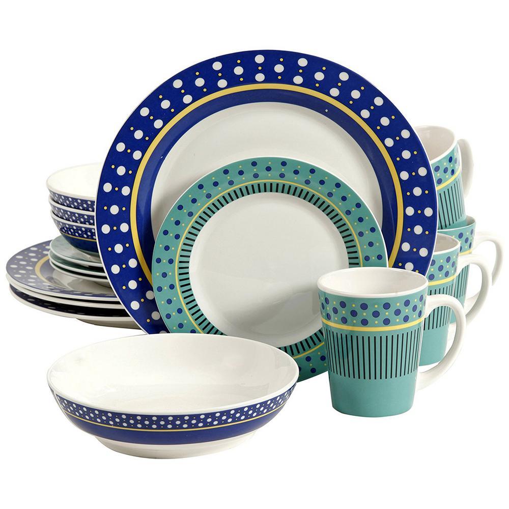 Lockhart 16-Piece Dinnerware Set