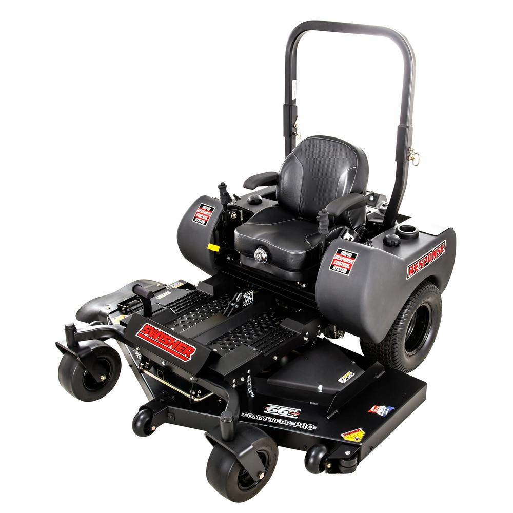 Swisher Mower Commercial Grade Response Pro 66 in. 24-HP ...