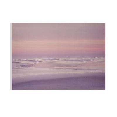 """40 in. x 28 in. """"Secluded Sands"""" Printed Wall Art"""