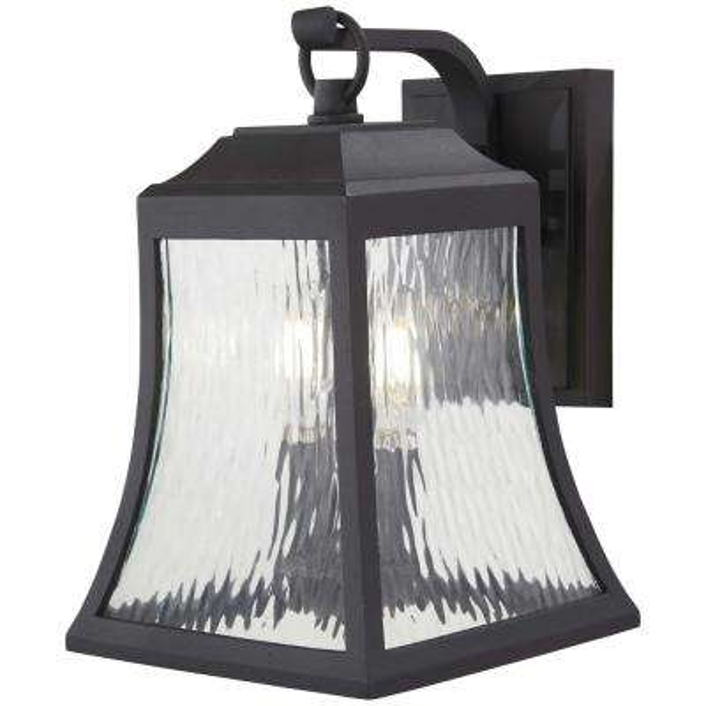 Cassidy Park 2-Light Black Outdoor Wall Lantern Sconce