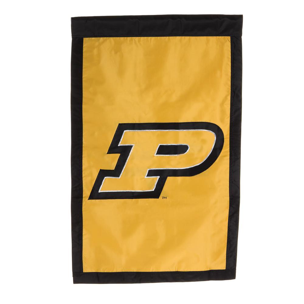 2.4 ft. x 3.6 ft. Purdue University Applique House Flag