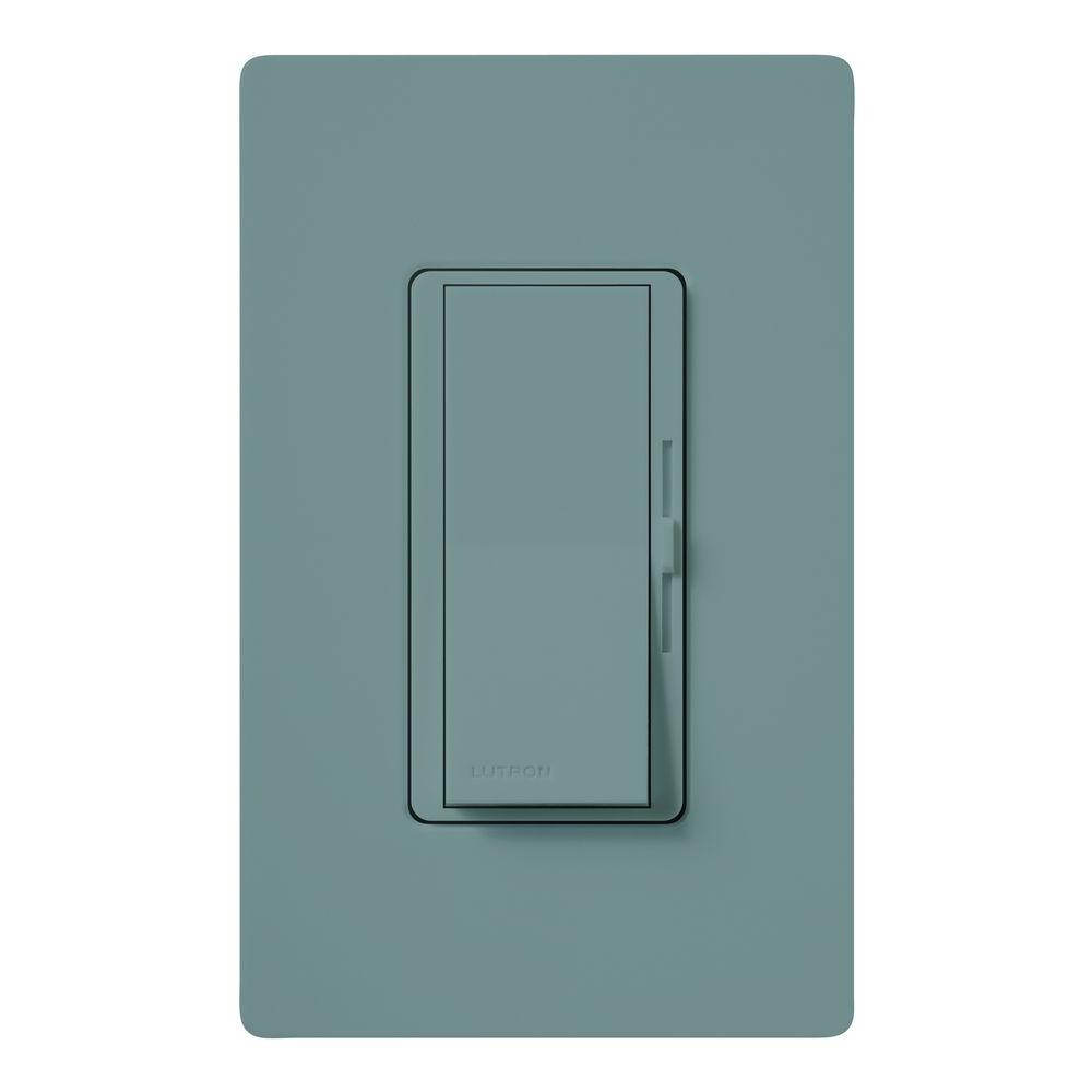 Lutron Diva Electronic Low Voltage Dimmer, 300-Watt, Single-Pole or ...