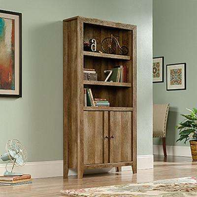 Dakota Pass Craftsman Oak Storage Open Bookcase