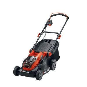 Black & Decker 16 inch 40-Volt MAX Lithium-Ion Cordless Battery Walk Behind Push Mower with (2) 2.0Ah... by BLACK+DECKER