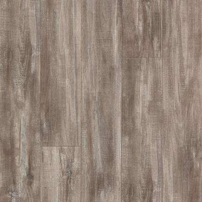 Outlast + Seabrook Walnut Laminate Flooring - 5 in. x 7 in. Take Home Sample