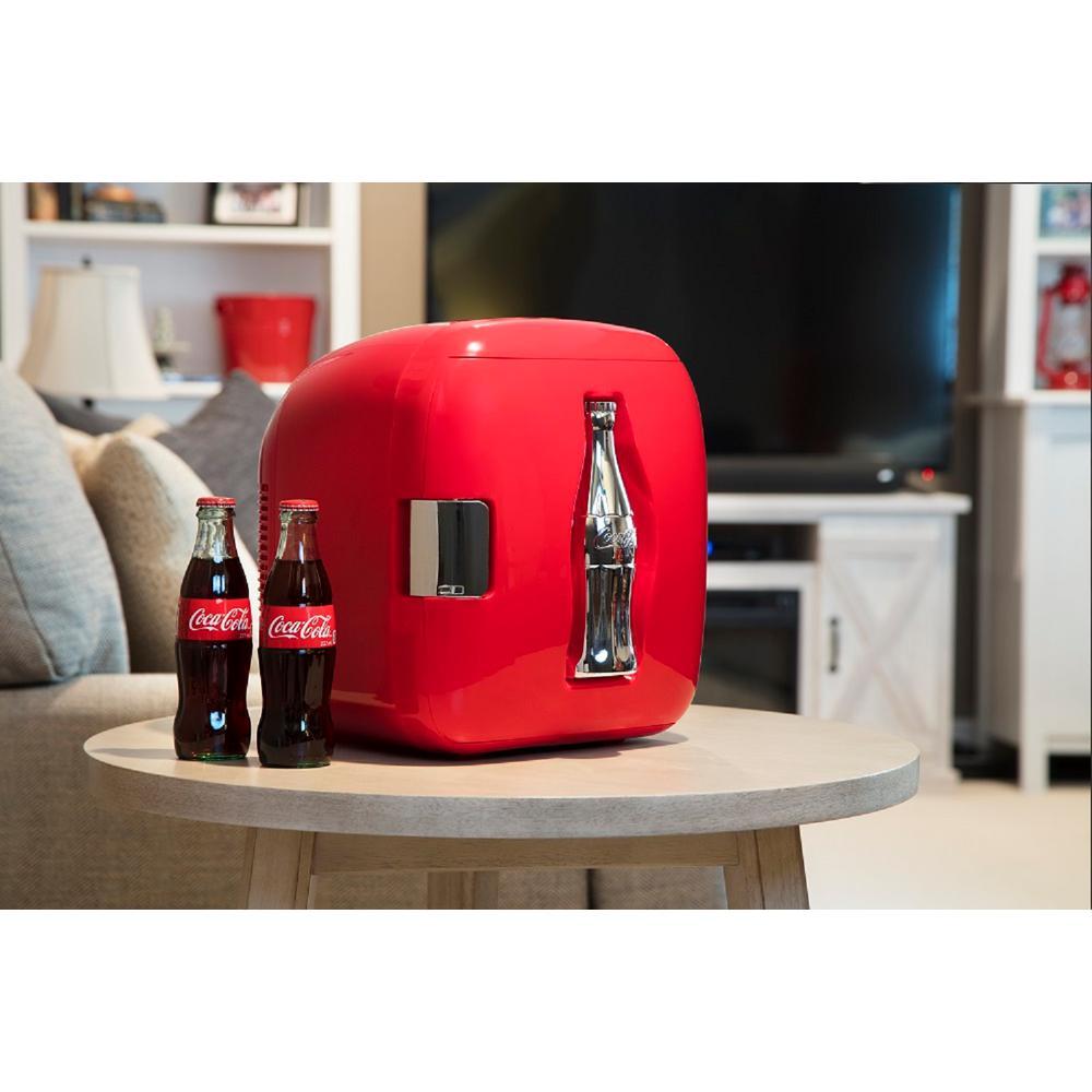 Koolatron 12 9 in  9 (12 oz ) Coca-Cola Personal Can Cooler