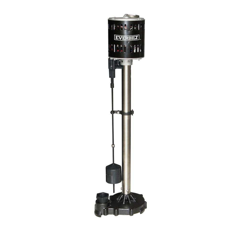 Everbilt 1/2HP Pedestal Sump Pump