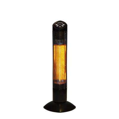 Infrared Electric Outdoor Heater - Freestanding Oscillating With Remote