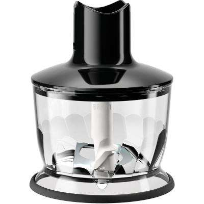 2-Cup Chopper Attachment for Multi-Quick Hand Blenders in Black