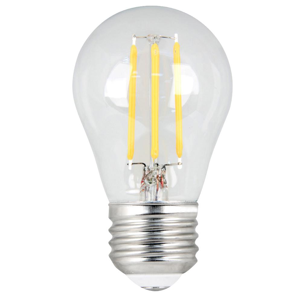 60W Equivalent Daylight (5000K) A15 Dimmable Filament LED Medium Base Clear