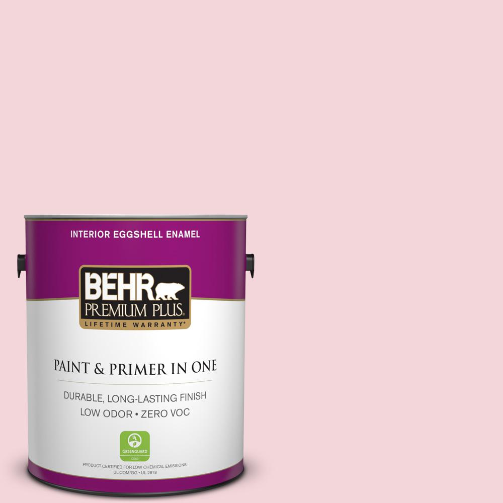 BEHR Premium Plus 1-gal. #P140-1 Summer Crush Eggshell Enamel Interior Paint