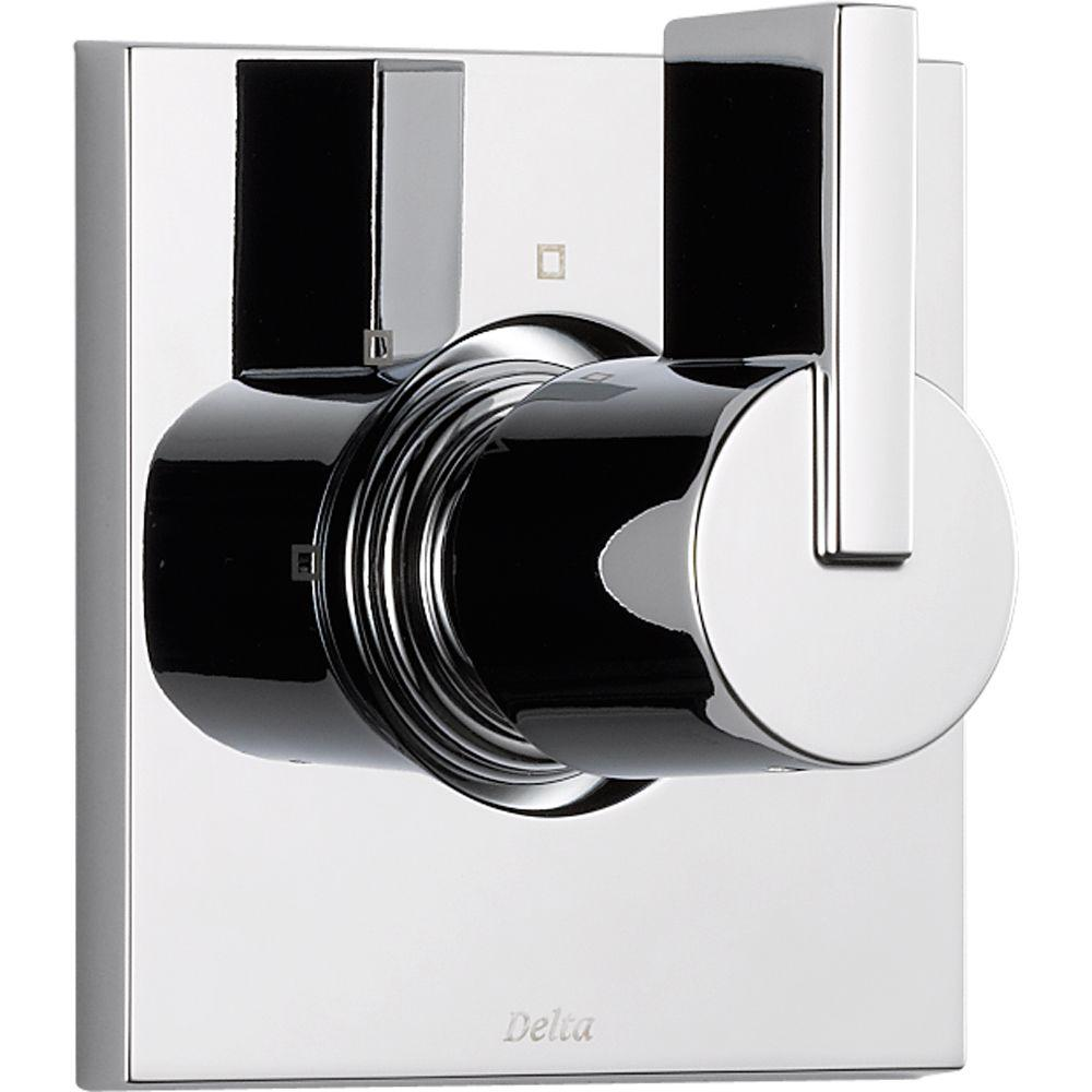 Delta Vero 1-Handle 3-Setting Diverter Valve Trim Kit in Chrome ...