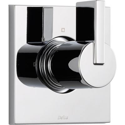 Vero 1-Handle 3-Setting Diverter Valve Trim Kit in Chrome (Valve Not Included)